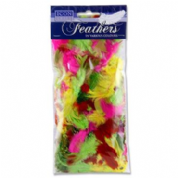 PREMIER ICON CRAFT 7g BAG FEATHERS - BRIGHT